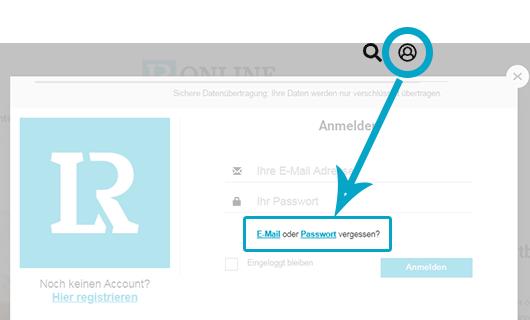 E-Mail und Passwort